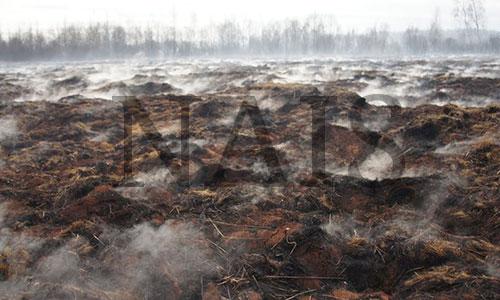 способы тушения торфяных пожаров