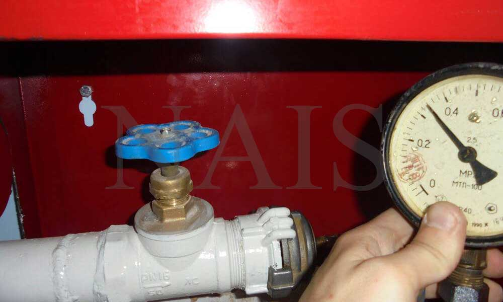 перевірка пожежних кранів на водоотдачу