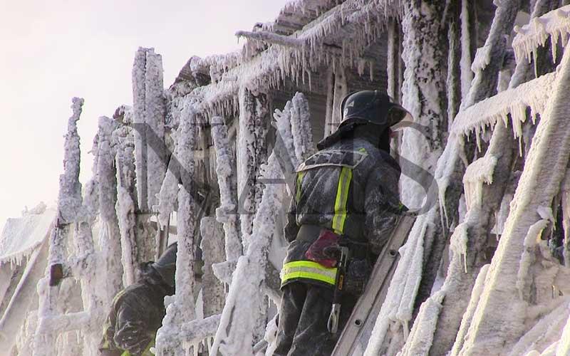 тушение пожаров при неблагоприятных условиях