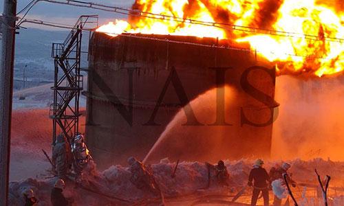 особливості гасіння пожеж на промислових об'єктах