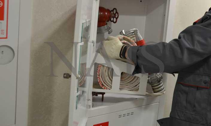 випробування пожежних кранів на водовіддачу