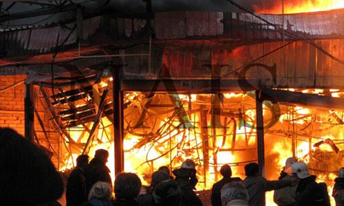 гасіння пожеж на промислових об'єктах