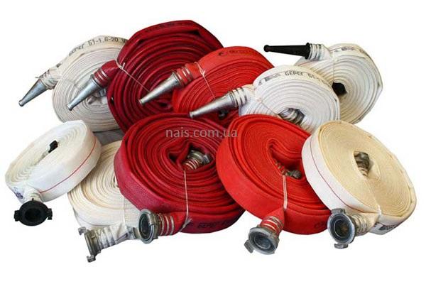 види рукавів пожежних