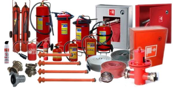 основні засоби пожежогасіння