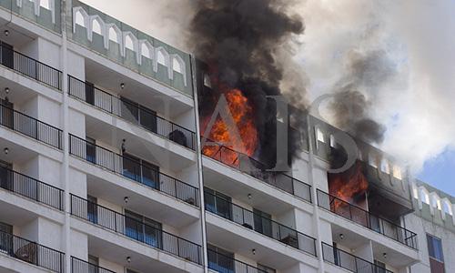 що потрібно робити під час пожежі в будівлі