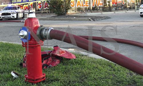 випробування пожежних гідрантів на водовіддачу