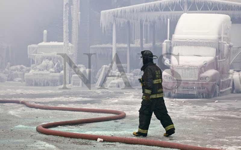 тушение пожаров в неблагоприятных климатических условиях