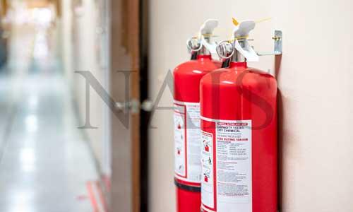 размещение огнетушителей на предприятии