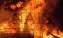 тушение пожаров на промышленных объектах
