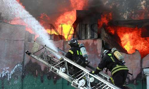 Що не можна робити під час пожежі